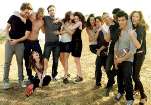 Twilight cast Vanity Fair