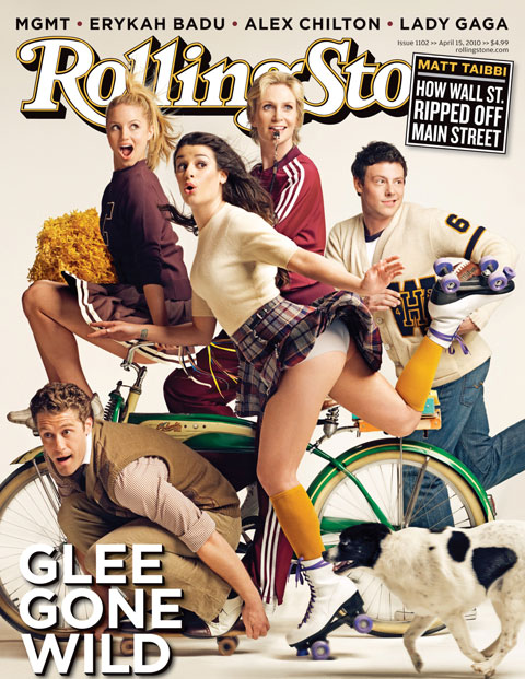 Glee cover of rolling stone
