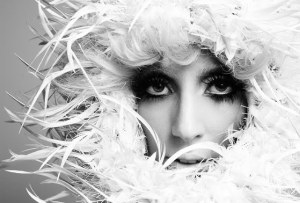Lady Gaga Flare Magazine