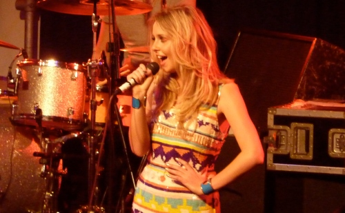 Diana Vickers London Scala 2010