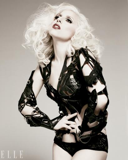 Lady Gaga Elle Magazine