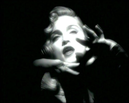 Madonna Vogie video still