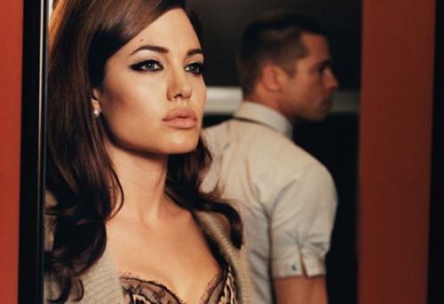 Angelina Jolie, Brad Pitt_W Magazine