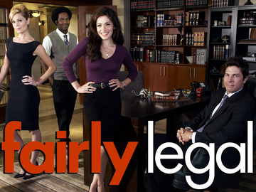 Fairly Legal_Sarah Shahi, Baron Vaughn, Michael Trucco, Virginia Williams