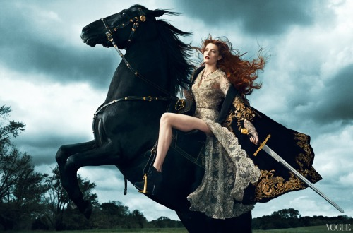 florence welch Vogue by Norman Jean Roy, September 2012
