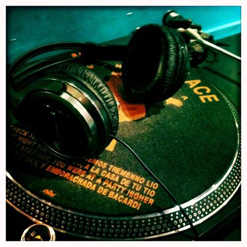 DJ headphones @ BM Soho