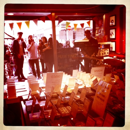 Phonica Record Store in Soho on National Record Store Day 2011