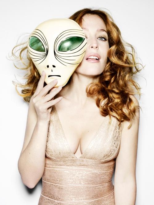 Gillian Anderson Esquire Magazine