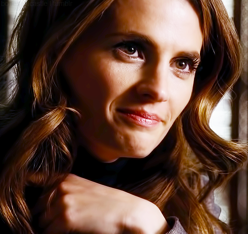 Stana Katic on Castle