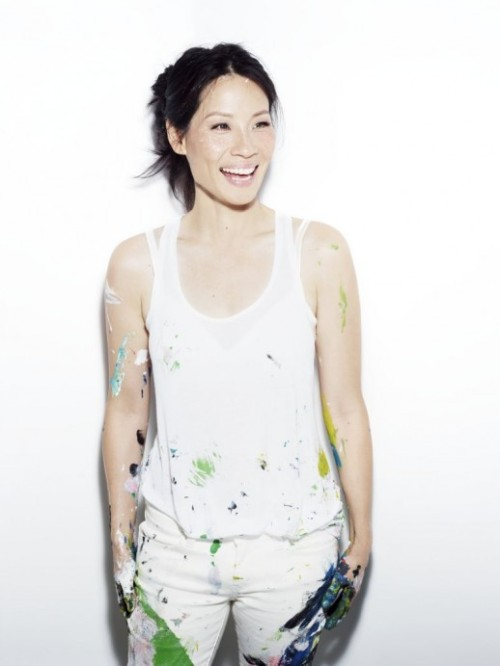 Lucy Liu by Hunger Tv, painting