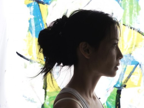 Lucy Liu by Hunger Tv painting